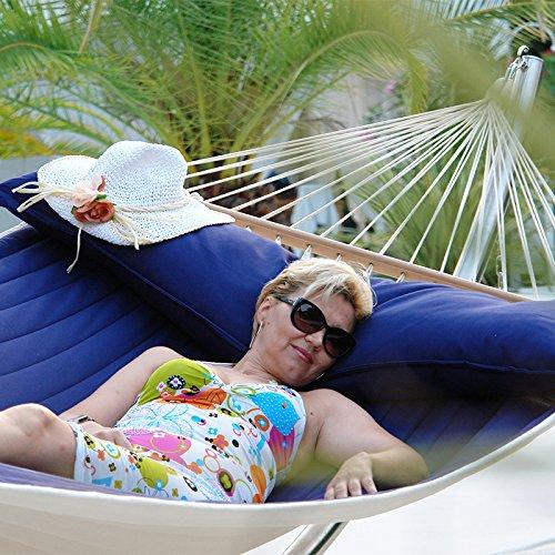 Lola Luxus Stab Hängematte gefüttert American Hammock Lifestyle OCEAN mit Kissen