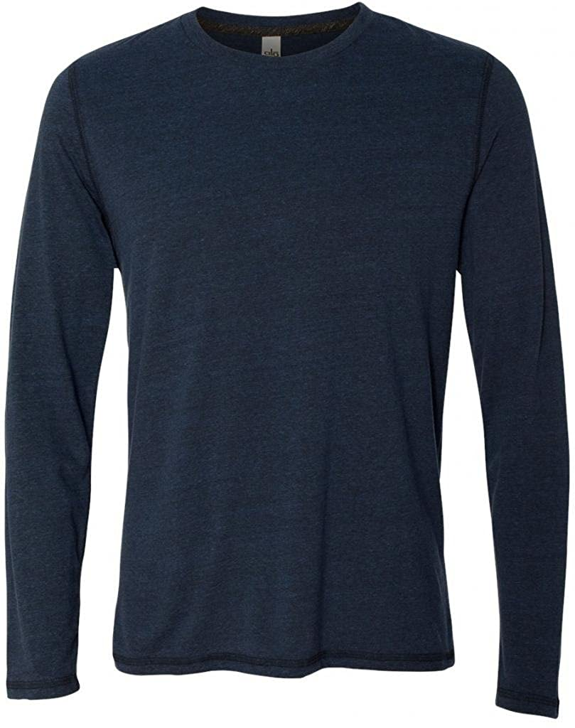 Yoga Clothing For You Mens Lightweight Long Sleeve Tee Shirt ALO-M3102