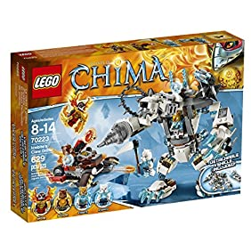 LEGO Chima 70223 Icebite's Claw Driller