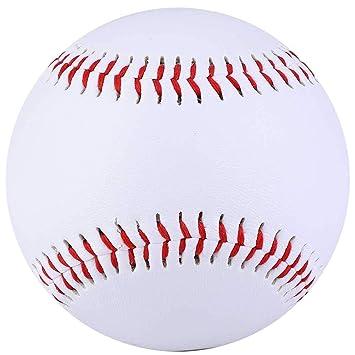 Mootea Pelota de Entrenamiento de béisbol, Pelota de PVC Blanca de ...