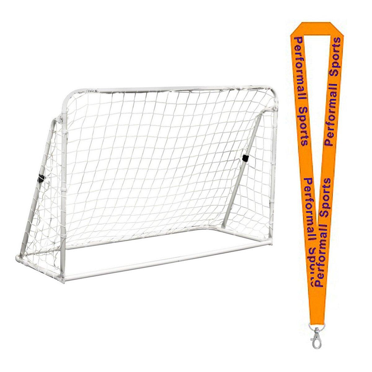 ChampionスポーツトレーナーSoccer Goal 3 in 1ホワイトwith 1 performall Lanyard sg3in1 – 1p B01FSZ762Q