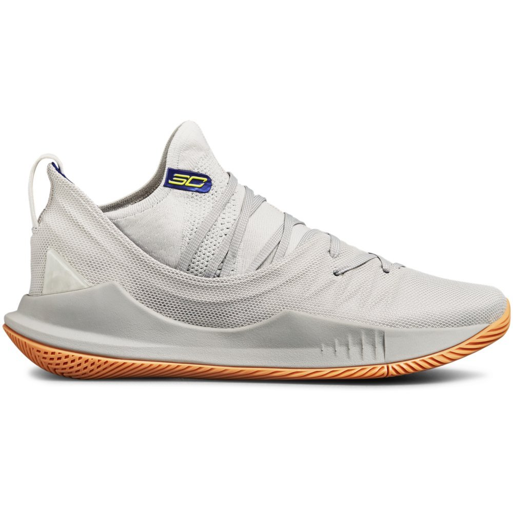 Under Armour Men's Curry 5 Basketball Shoe B077TZDNWR 17 M US|Elemental (105)/Overcast Gray
