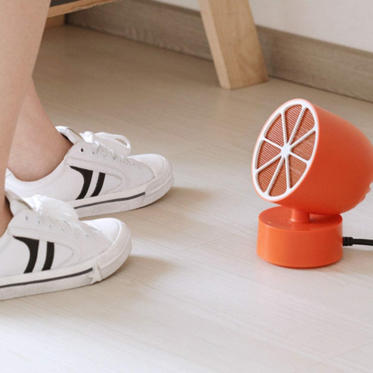 Kwmen Mini Chauffe-Citron Bureau Bureau Portable Bureau PTC Chauffage Chambre Chauffage cr/éatif