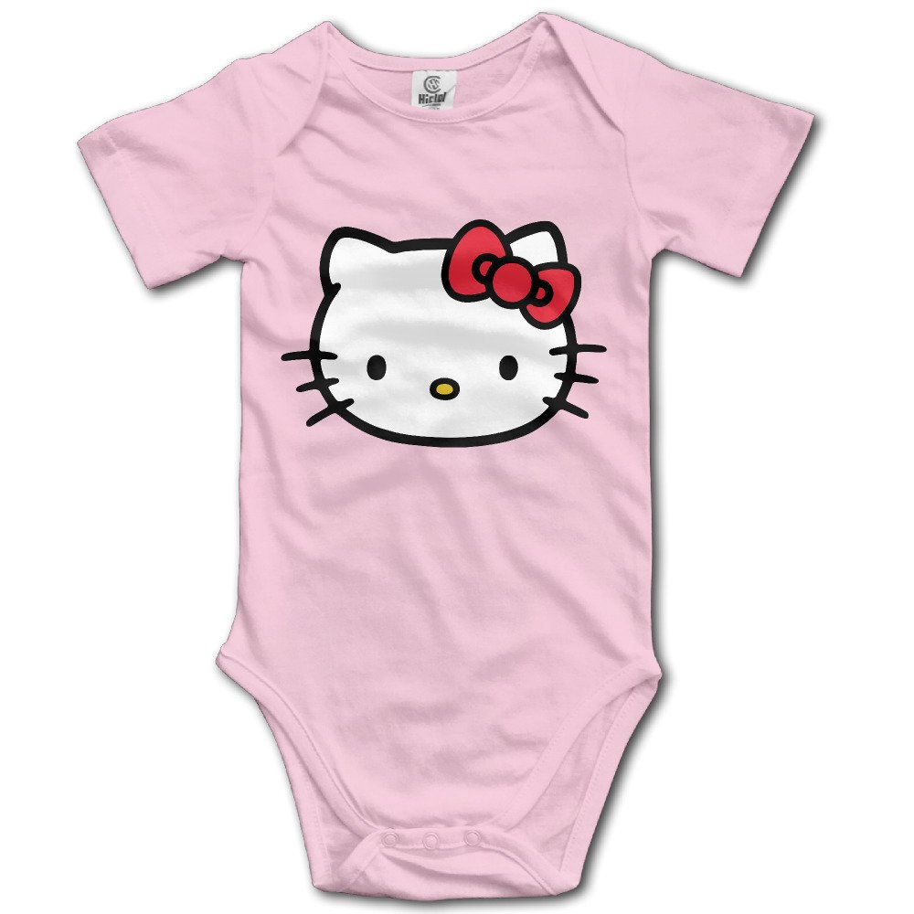 b7646fd81 Amazon.com: Hello Kitty Kawaii Cartoon Cat Cute Baby Onesie T Shirt Baby:  Clothing