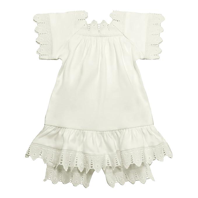 Amazon.com: Victoriano Organics bebé niña camisón vestido y ...