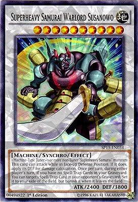 Yu-Gi-Oh! - Superheavy Samurai Warlord Susanowo (SP15-EN034) - Star Pack ARC-V - 1st Edition - Shatterfoil