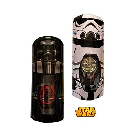 STAR WARS Reloj Digital en Bote de Metal Kids SW92186: Amazon.es: Juguetes y juegos