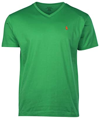 509a62724 Polo Ralph Lauren Men s Classic Fit V-Neck T-Shirt at Amazon Men s ...