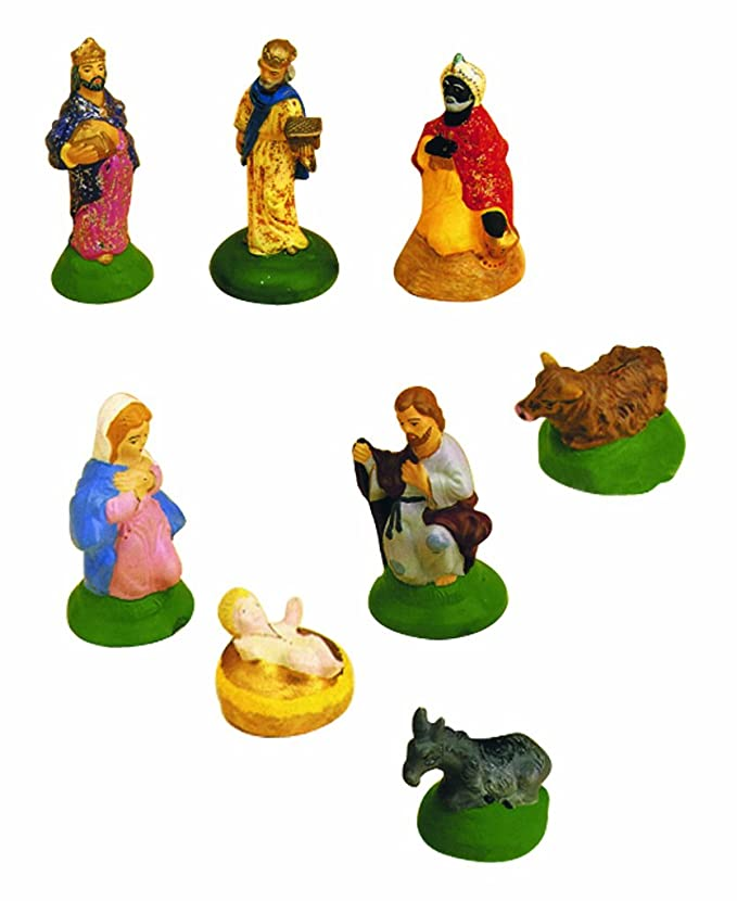 Crea de modo simple las figuras para tu Belén/nacimiento con estos moldes.: Amazon.es: Hogar