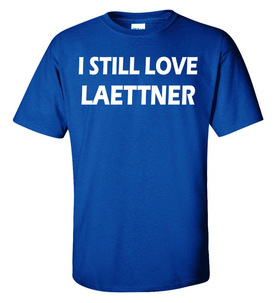 Silo Shirts BLUE Christian Laettner ''I Still Love Laettner'' T-Shirt ADULT