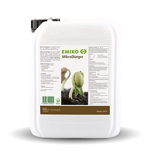 EMIKO® Micro abono, 10 L: Amazon.es: Jardín