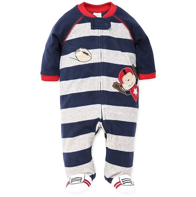 Amazon.com: Little Me Bebé Boys manta Sleepers: Clothing