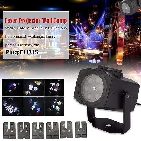 ZLR LED Navidad Paisaje proyector de Navidad, 6 Tarjetas por ...
