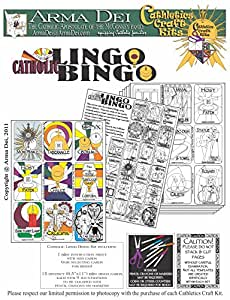 Catholic Lingo Bingo (English)