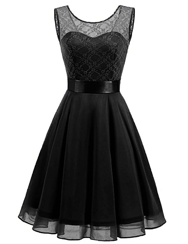 7d28d1cba4 Amazon.com  vimans Womens Chiffon Short Homecoming Dresses 2018 Knee Length Prom  Gown A Line Dress562  Clothing