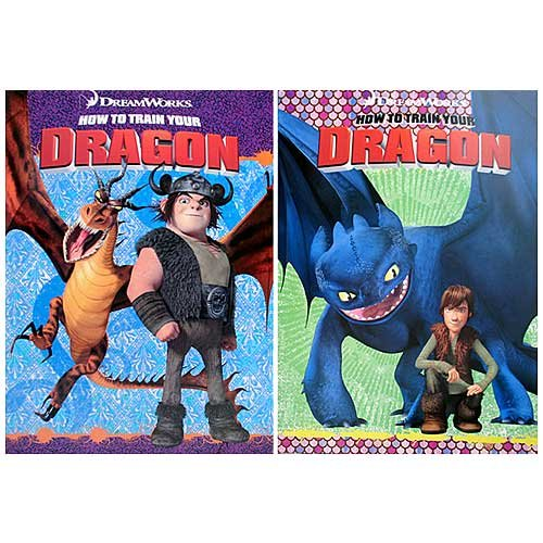 How To Train Your Dragon Coloring And Activity Books 2 By Dreamworks Animation Amazonca Toys Games