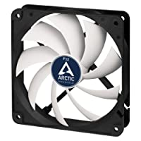 ARCTIC F12-120 mm Standard Case Fan | Ultra Low Noise Cooler | Silent Cooler with Standard Case | Push- or Pull Configuration possible