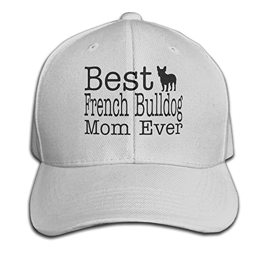 70947d9e856 Brim Dog Lover Best French Bulldog Mom Ever Trucker Hats at Amazon Men s  Clothing store