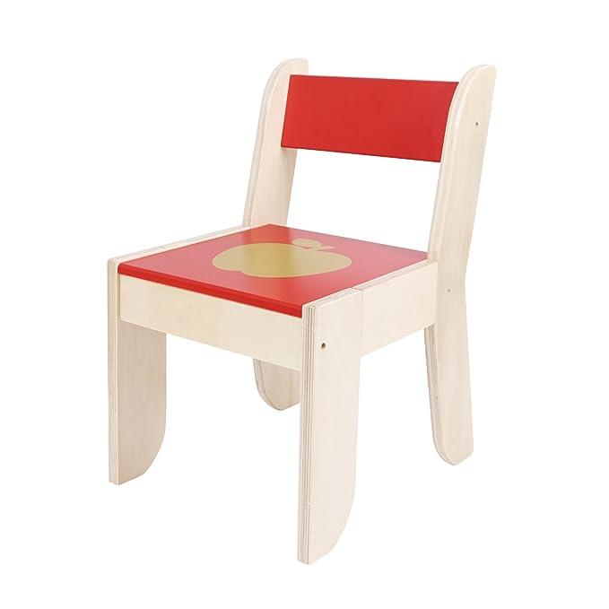 Labebe Silla de mesa multiusos de alta calidad, juego de mesa de madera de dibujos animados para niños Utilizado como juego de mesa de lectura de pintura ...