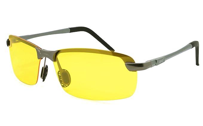 LZXC Gafas de Sol Polarizadas para Visión Nocturna para Hombres con Marco AL-MG Lente HD para Conducción Senderismo Pesca Godf Deporte Exterior: Amazon.es: ...
