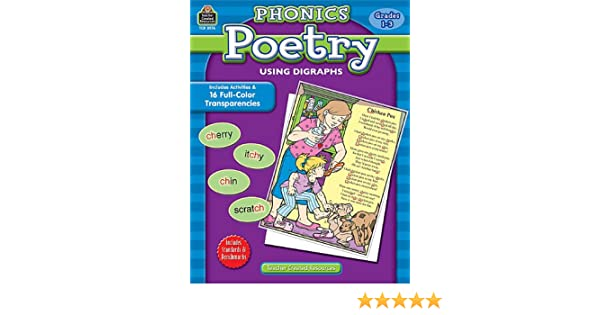 Phonics Poetry Using Digraphs: Patricia Carpenter: 0088231989769 ...