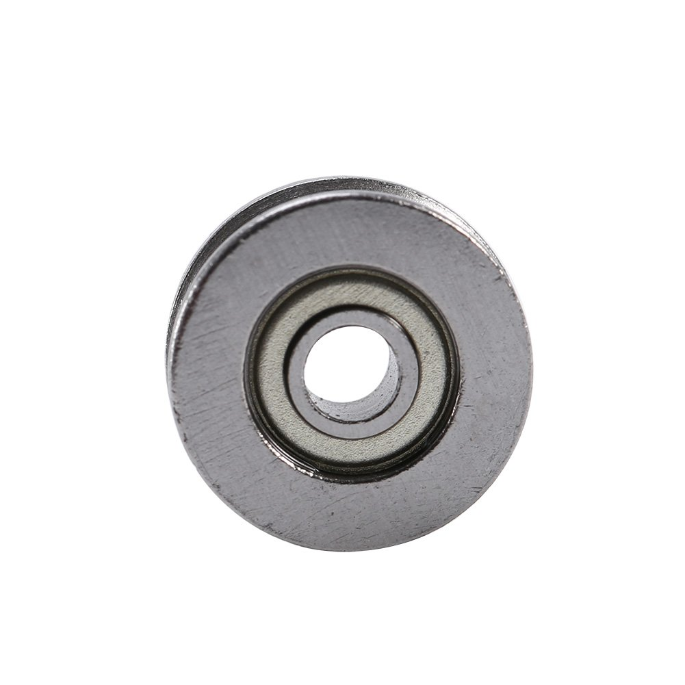 V Groove Pulley V Bearing Double Shielded Avoid Contaminants Entering and Save Lubricant Long Service Life