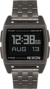 Nixon Base -Spring 2017- All Gunmetal
