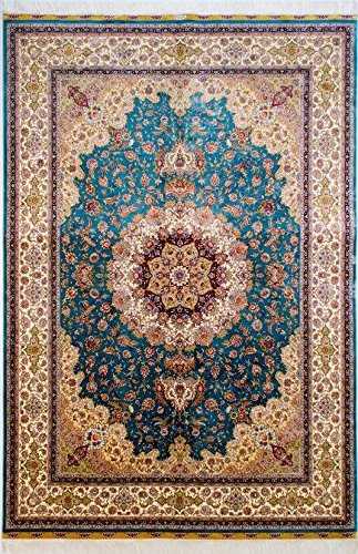 Yuchen Carpet 5.5x8 Handmade Luxury Silk Area Rug Authentic for sale  Delivered anywhere in Canada