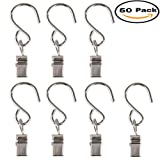 Amazon Price History for:Mydio 50 Pack Stainless Steel Curtain Clip String Party Light and Outdoor Activities Wire-Party Supplies(50 Pack)