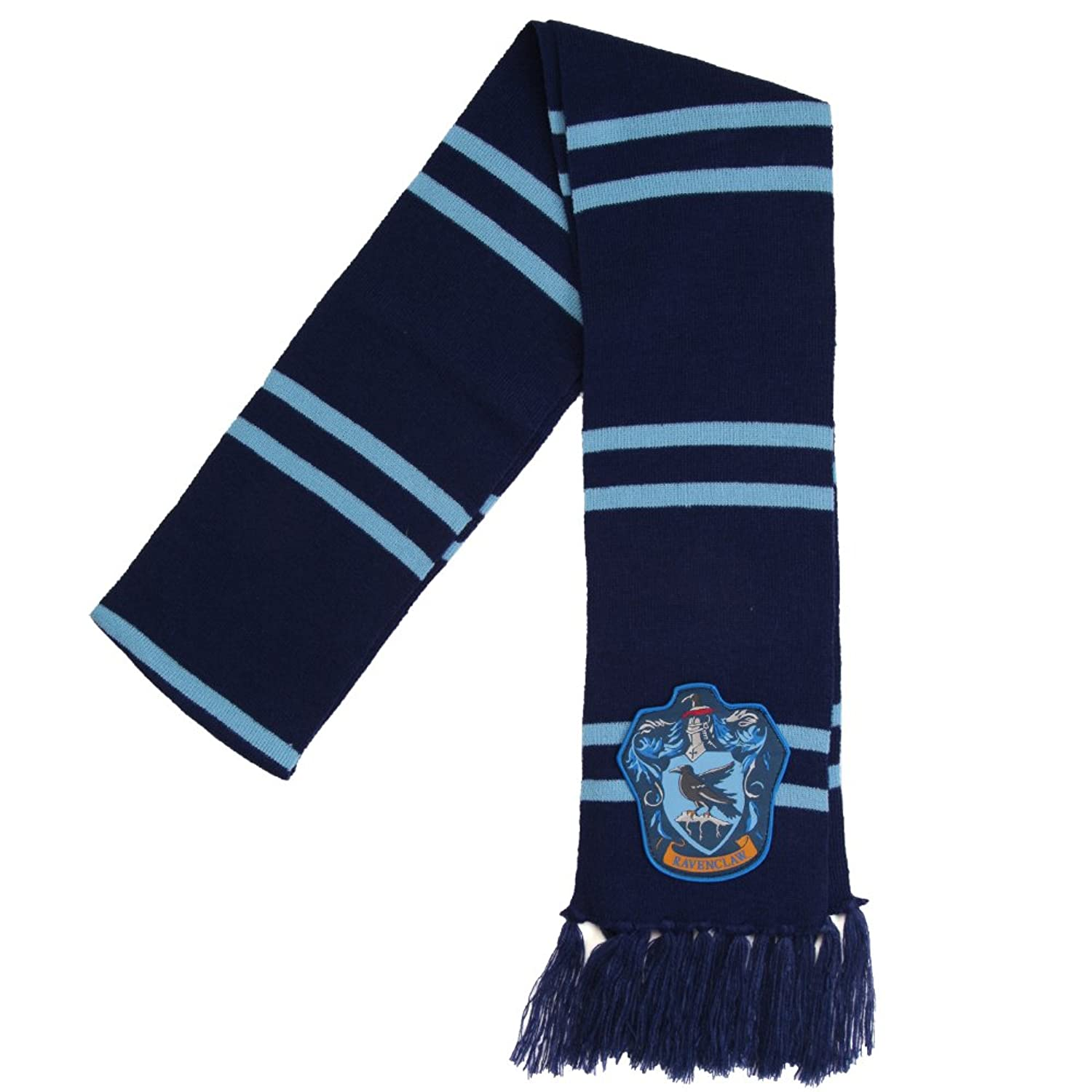 Amazon.com: Harry Potter Ravenclaw House Knit Winter Scarf: Clothing