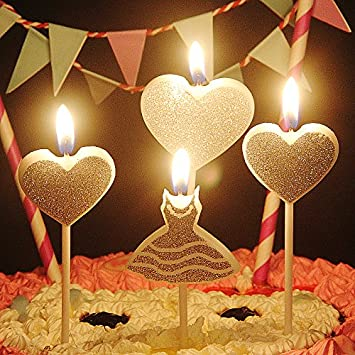 Groovy Buy My Party Suppliers Birthday Party Decration Heart Candle Birthday Cards Printable Trancafe Filternl