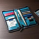 サンワダイレクト パスポートケース ポケット 航空券対応 トラベルオーガナイザー 200-BAGIN003_002