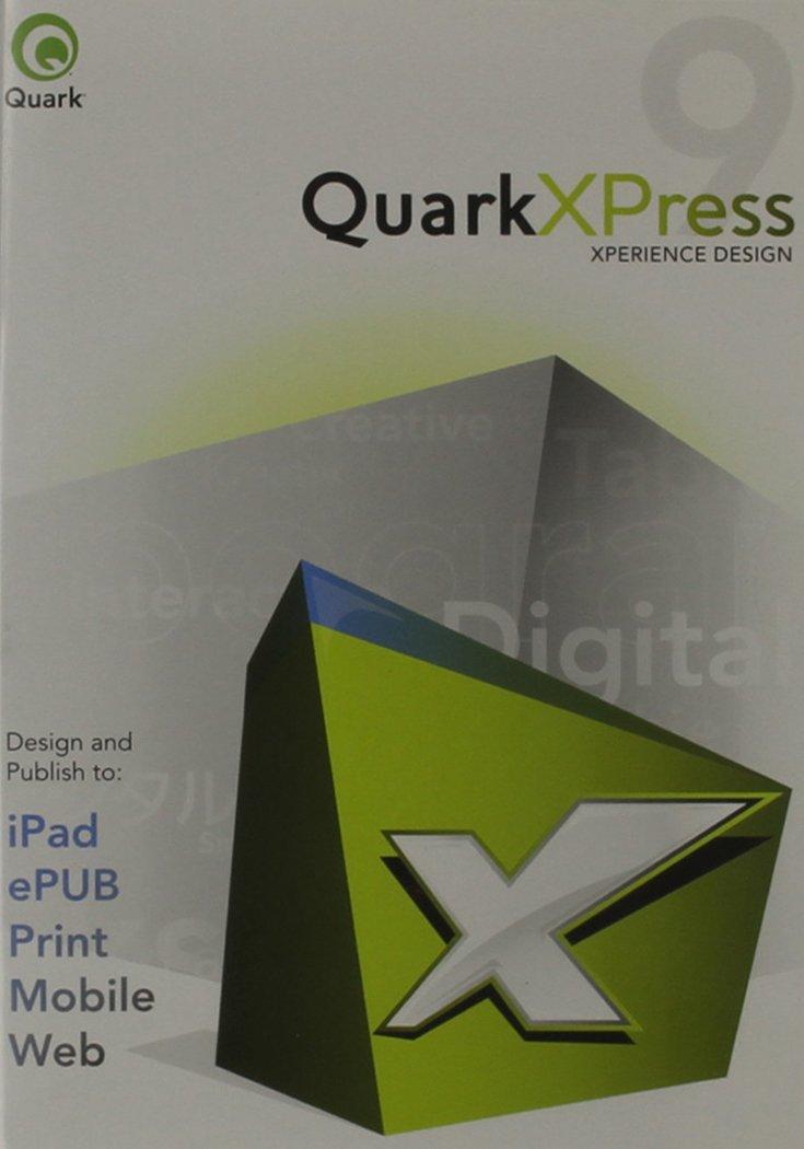 Quarkxpress 9 UPG For Macintosh/Windows Single User DVD Media V.9 9(Upgrade from any previous version of QuarkXPress) by Quark