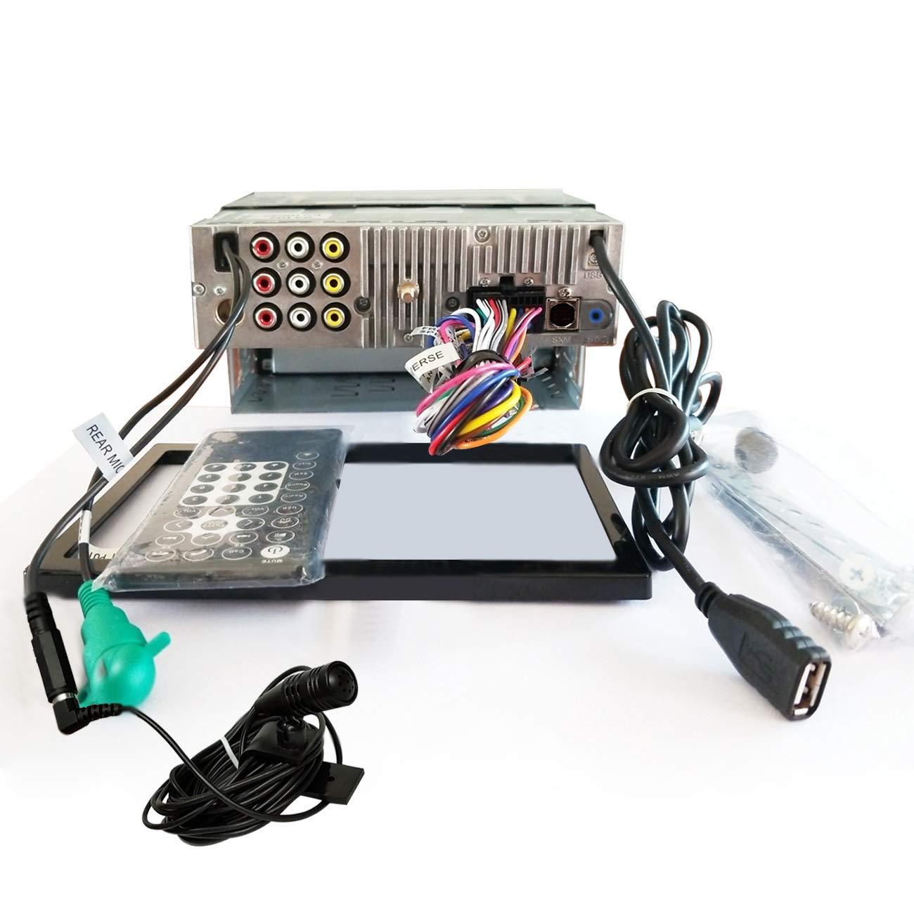 AM//FM Radio Tuner,USB Video /& Audio,and More AYUD701DA SA102 CarPlay /& Android Auto Receiver w//Bluetooth ATOTO Year Series in-Dash Digital Media Car Stereo