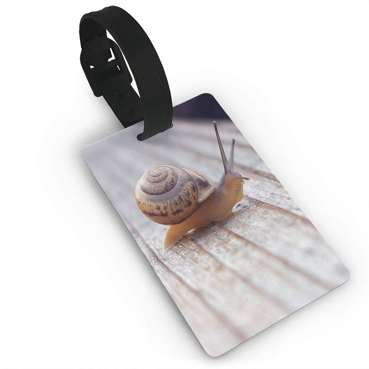 Snail Baggage Tag For Travel Bag Suitcase Accessories 2 Pack Luggage Tags