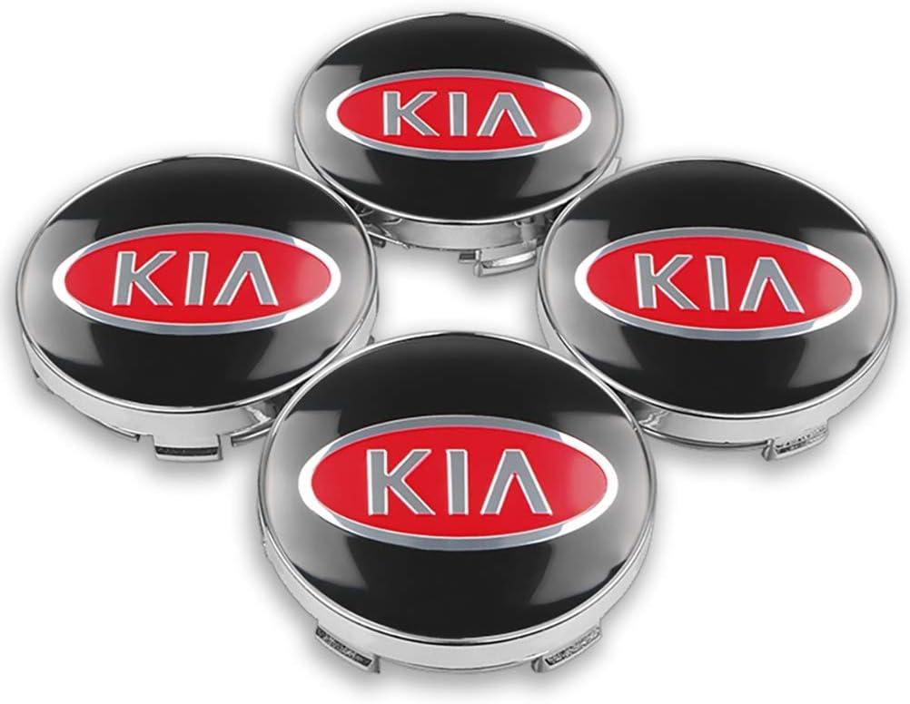 per Kia Rio Ceed Sportage Sorento K2 K3 K4 K5 K6 4 coprimozzi in lega ABS da 60 mm OZ6YA