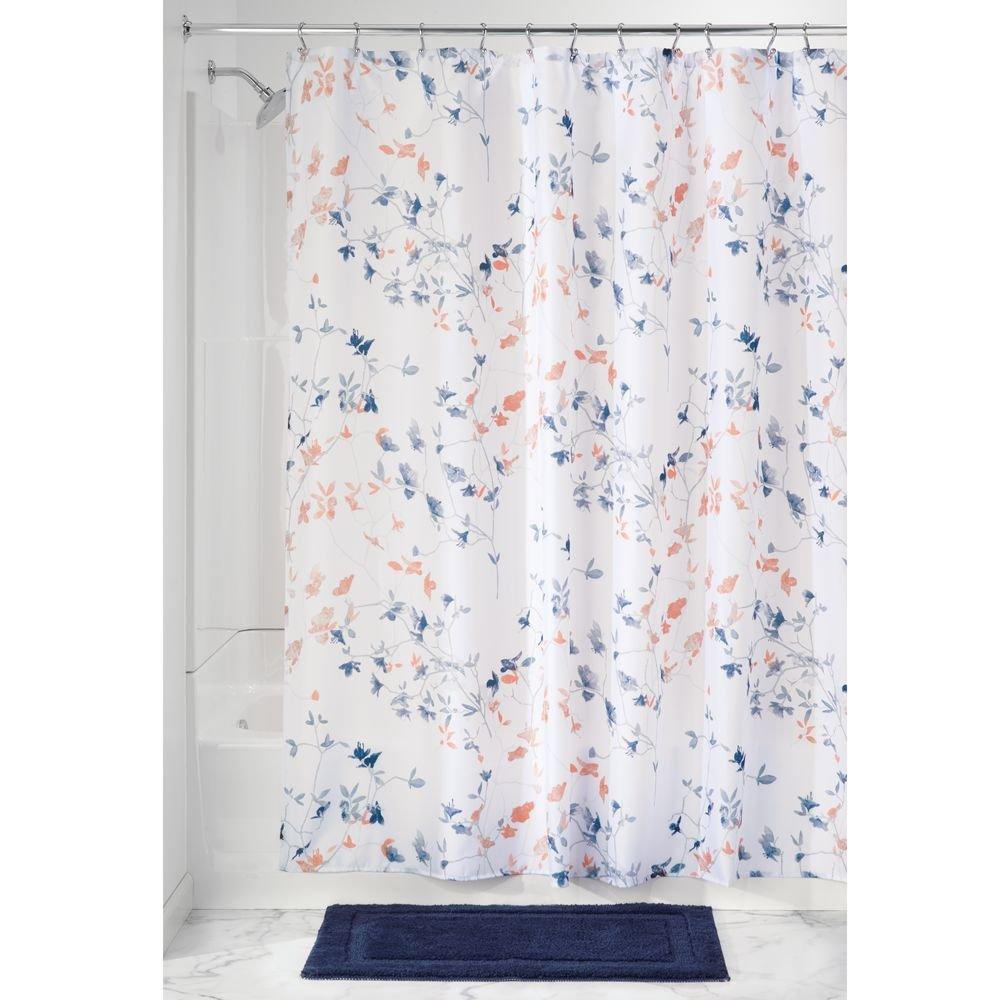 Amazoncom Interdesign Twiggy Floral Fabric Shower Curtain 72 X