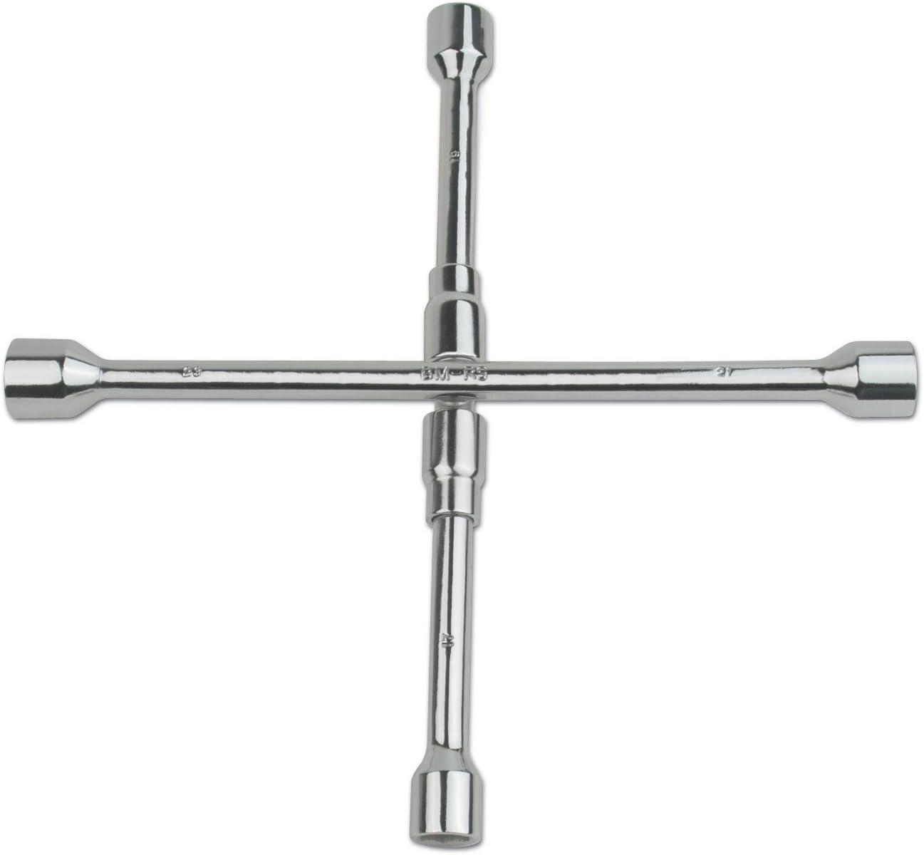 Mannesmann 16000 Folding Automobile X-Wheel Nut Wrench