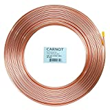 Copper tubing 3/8 inch x 50 ft Soft Type HVAC Refrigeration Pipe/Tubing