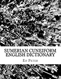 Sumerian Cuneiform English Dictionary