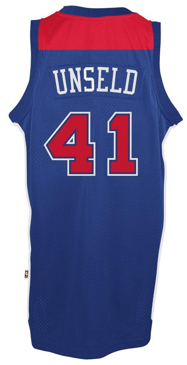 da6efc0ea7c Amazon.com   adidas Washington Bullets  41 Wes Unseld NBA Soul Swingman  Jersey
