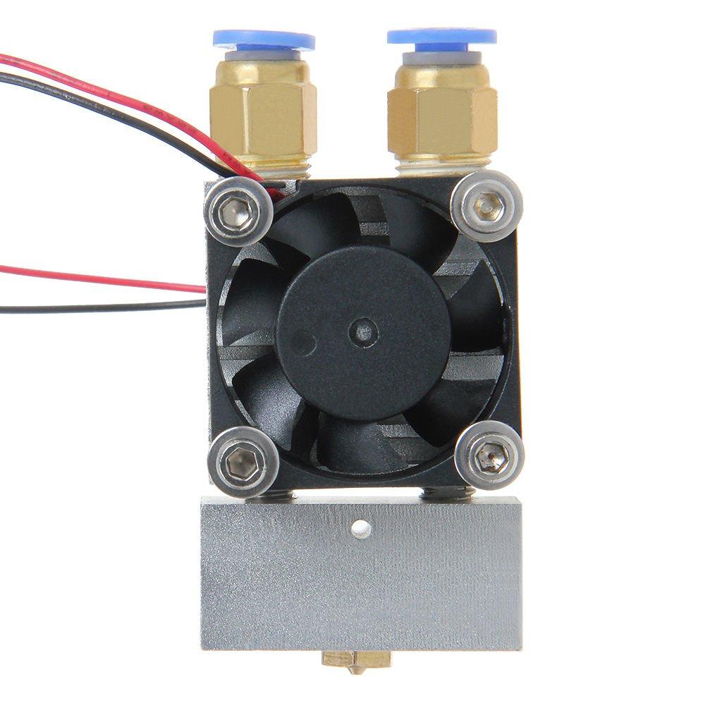 Multi color print Dual Extrusion 2in-1out muti print model Reprap Prusa Mentel