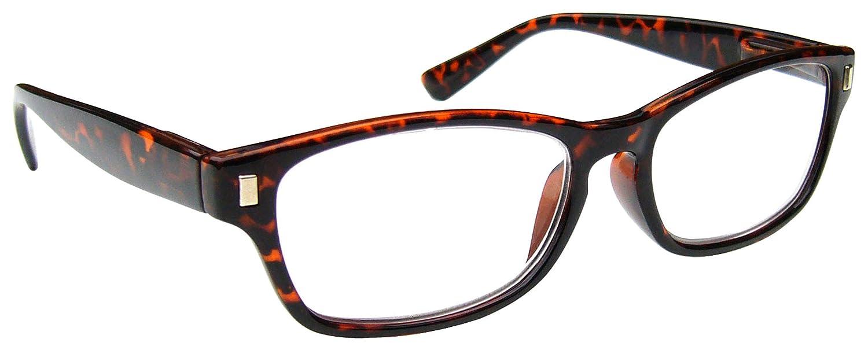 1,50 Braune Schildpatt Kurzsichtig Fernbrille Kurzsichtigkeit Herren Damen Federscharniere M10-2 Dioptrien