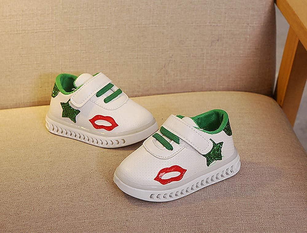 Little Kid//Big Kid Lurryly❤Kids Shoes for Girls Boys Light-up Sneaker LED Lights Sport Shoe