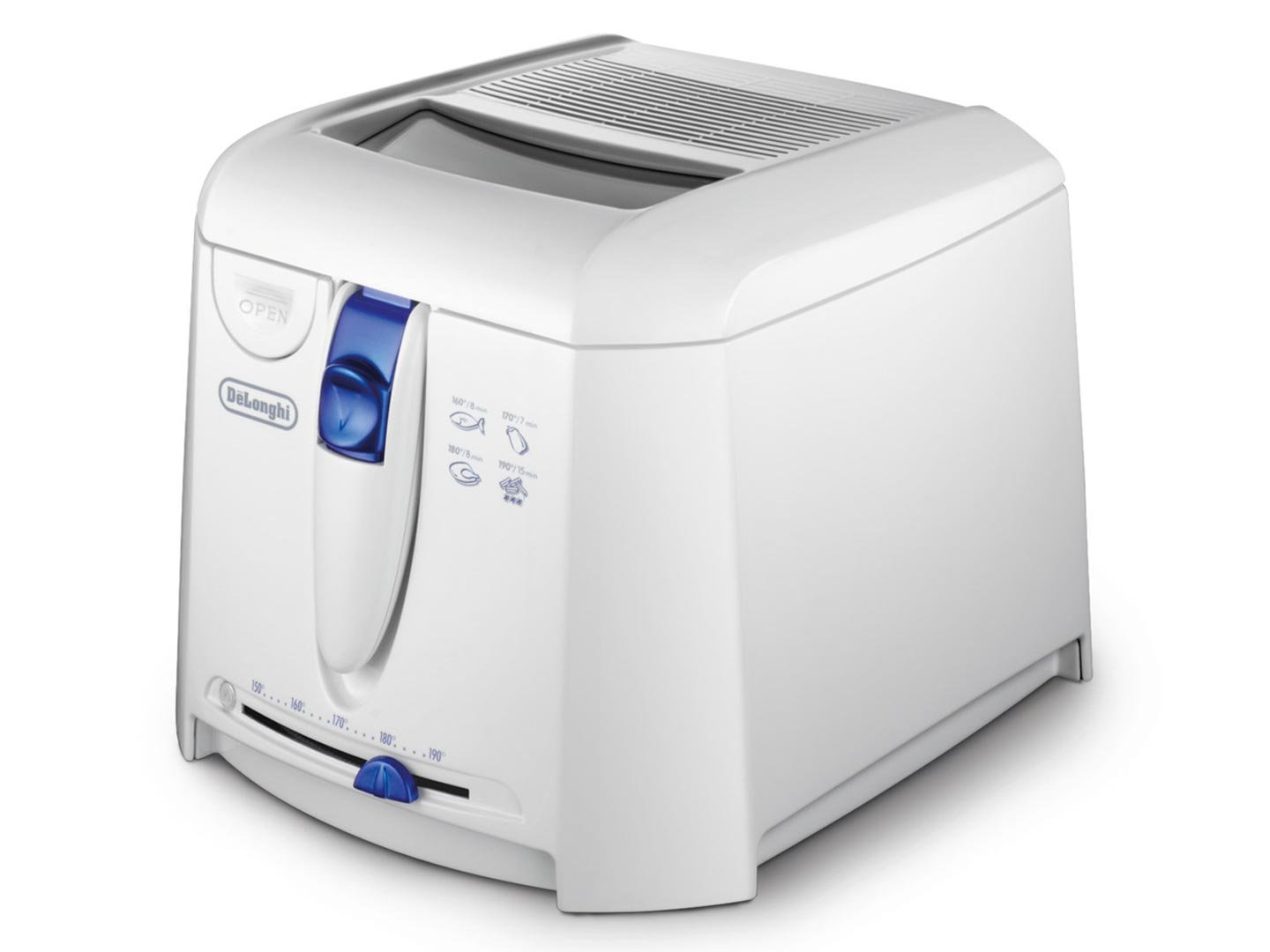 DeLonghi F Blanco x x mm g  V  Hz Freidora