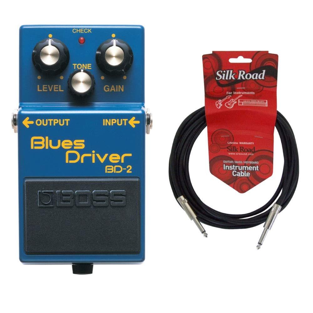 クラシック BOSS BD-2 BOSS B01LNQAXMO Blues Driver 3Mシールドケーブル付き BD-2 オーバードライブ B01LNQAXMO, 海外グルメ食品のIGM:fc1bff5a --- senas.4x4.lt
