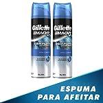 Gillette Gel Para Rasurar Mach3 Extra Comfort 198g C/u, 2 Unidades, Pack of 1