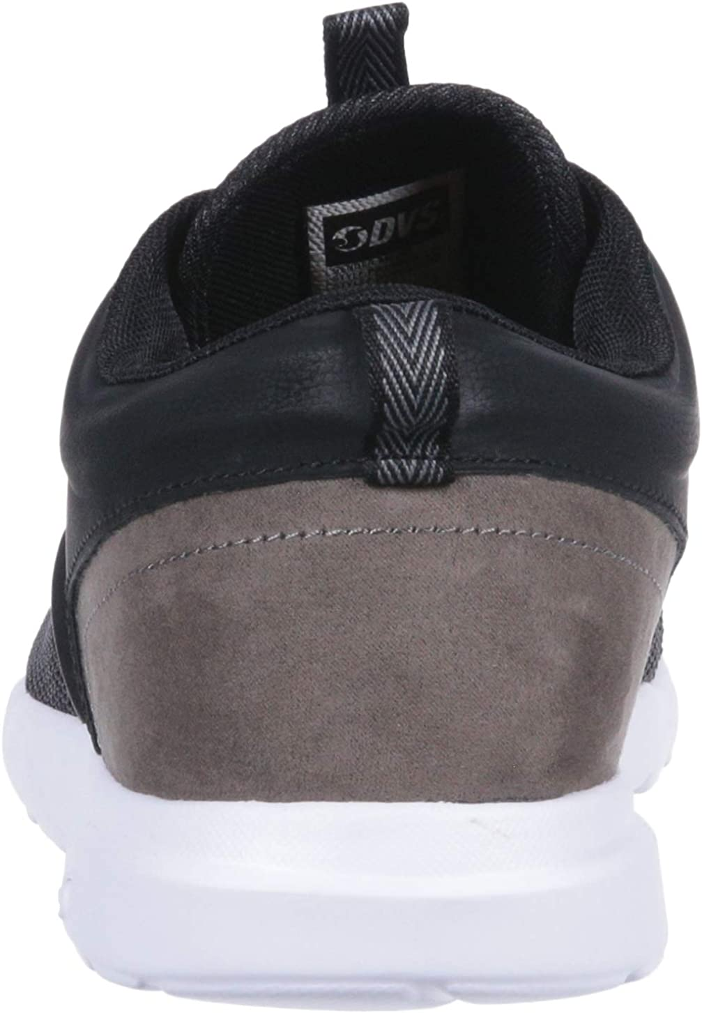 DVS Men's Premier 2.0+ Skate Shoe Black Knit Olive Gold