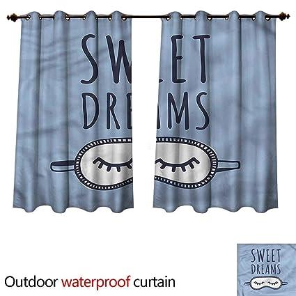 Amazon.com: cobeDecor Sweet Dreams Outdoor Ultraviolet ...