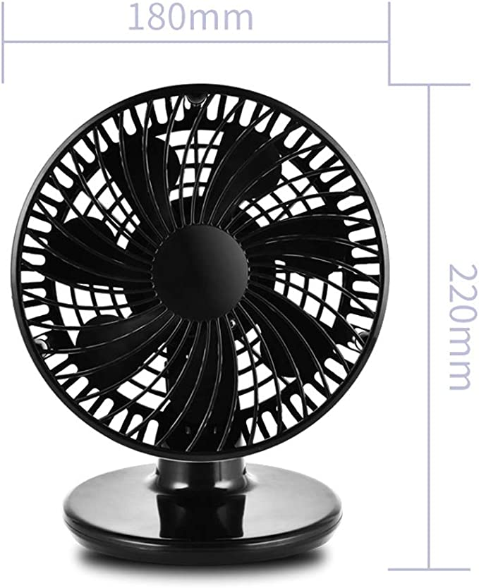 Hhxiao 6-inch USB Mini Fan Portable Office Student Dormitory Bed Silent Fan